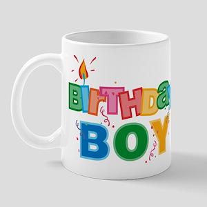 Birthday Boy Letters Mug