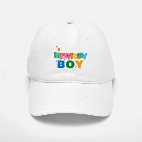 Birthday Boy Letters Baseball Baseball Cap