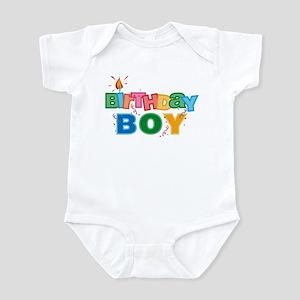 Birthday Boy Letters Infant Bodysuit