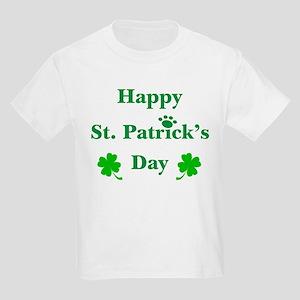 Happy St. Patricks Day W/Paw 209 T-Shirt