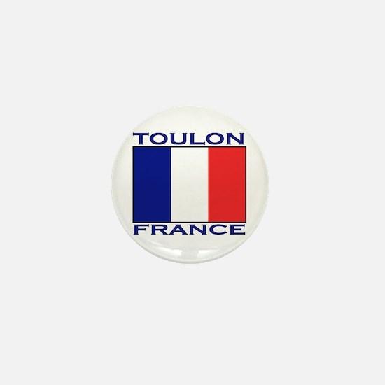 Toulon, France Mini Button