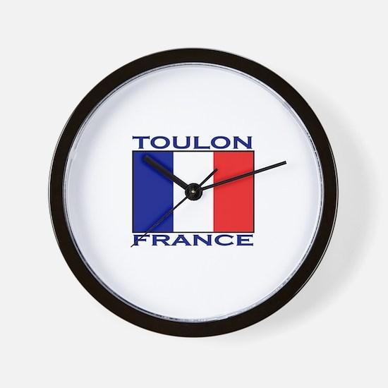 Toulon, France Wall Clock