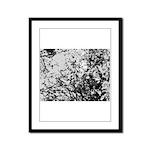 First snow Framed Panel Print