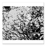 First snow Square Car Magnet 3