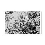 First snow Rectangle Car Magnet