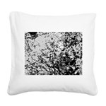 First snow Square Canvas Pillow