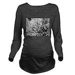 First snow Long Sleeve Maternity T-Shirt