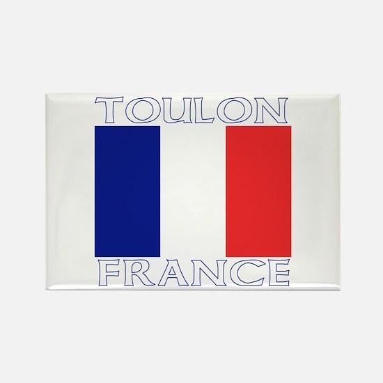 Toulon, France Rectangle Magnet (10 pack)