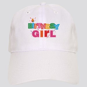 Birthday Girl Letters Cap