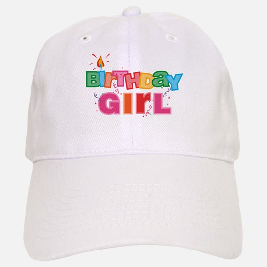 Birthday Girl Letters Baseball Baseball Cap