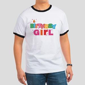 Birthday Girl Letters Ringer T
