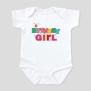 Birthday Girl Letters Infant Bodysuit