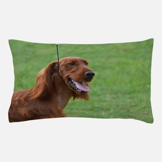Sweet Irish Setter Dog Pillow Case