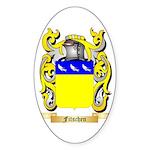 Fitschen (2) Sticker (Oval 10 pk)