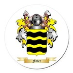 Fitler Round Car Magnet