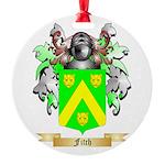Fitch Round Ornament