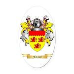 Fiszhof Oval Car Magnet