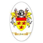 Fisk Sticker (Oval 50 pk)