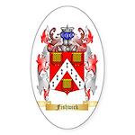 Fishwick Sticker (Oval 50 pk)