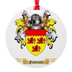 Fishlevitz Round Ornament