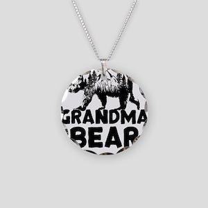 Grandma Bear Woods Necklace