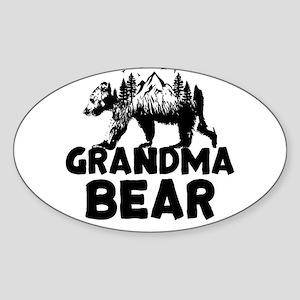 Grandma Bear Woods Sticker