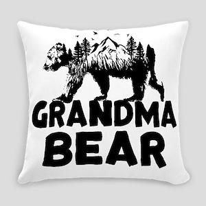 Grandma Bear Woods Everyday Pillow