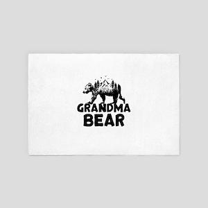 Grandma Bear Woods 4' x 6' Rug