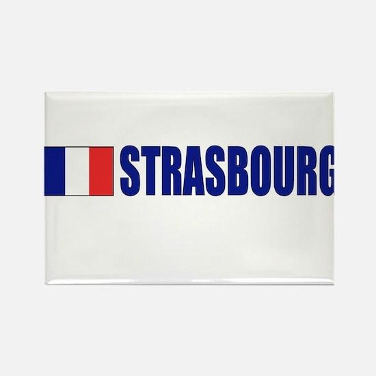 Strasbourg, France Rectangle Magnet (10 pack)