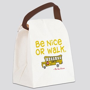 be-nice Canvas Lunch Bag