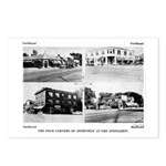 The Four Corners Of Deerf Postcards (Package Of 8)