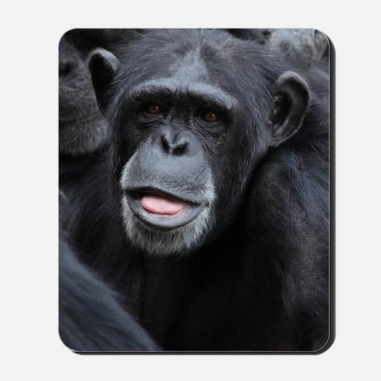 Black Monkey Mousepad