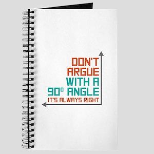 90 Degree Angle Journal