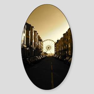 Brighton Ferris Wheel Sticker (Oval)