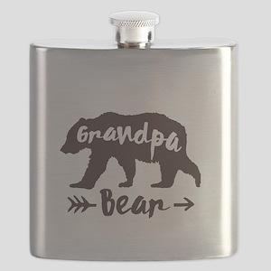 Grandpa Bear Flask