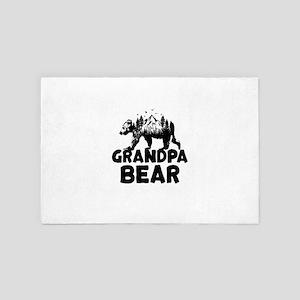 Grandpa Bear Woods 4' x 6' Rug