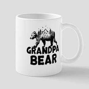 Grandpa Bear Woods Mugs
