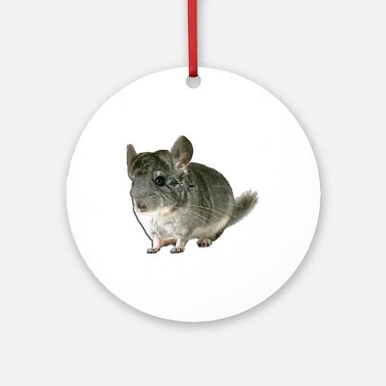 Chinchilla Photo Ornament (Round)