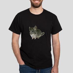 Chinchilla Photo Dark T-Shirt