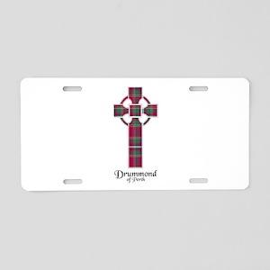 Cross - Drummond of Perth Aluminum License Plate