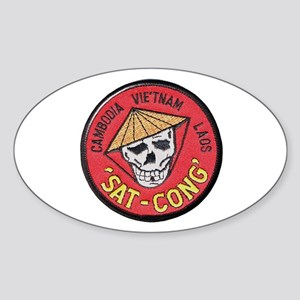 Sat-Cong Kill Communists Sticker