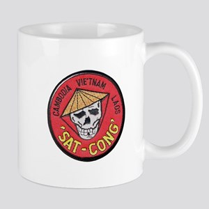 Sat-Cong Kill Communists Mugs