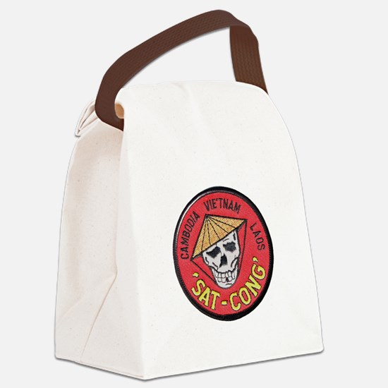 Sat-Cong Kill Communists Canvas Lunch Bag