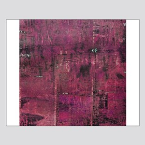 Pink rustic wood square textures Posters