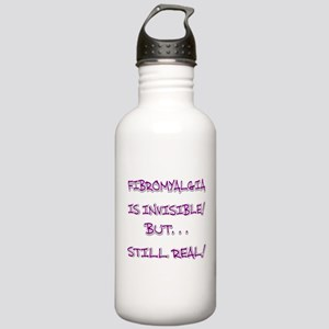 FIBRO INVISIBLE BUT STILL REAL Water Bottle