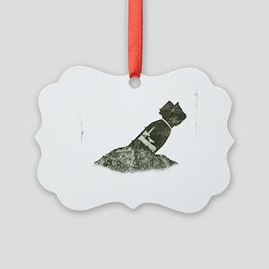 F Bomb Picture Ornament