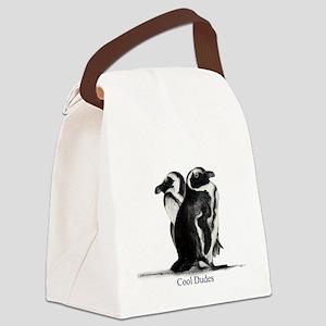 Cool Penguins Canvas Lunch Bag