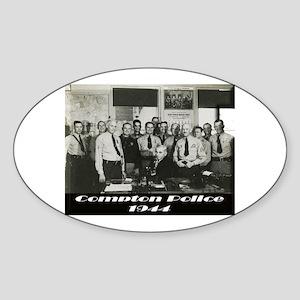 Compton Police 1944 Sticker