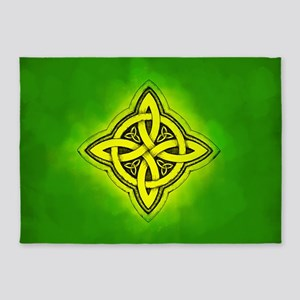Celtic Luck Knot 5'x7'Area Rug