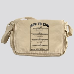 Vintage - How to Row Messenger Bag